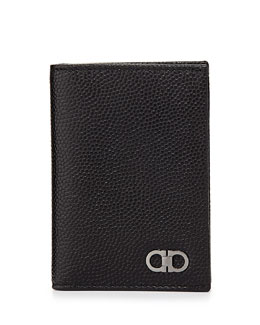 Ten Forty One Vertical Card Case, Black