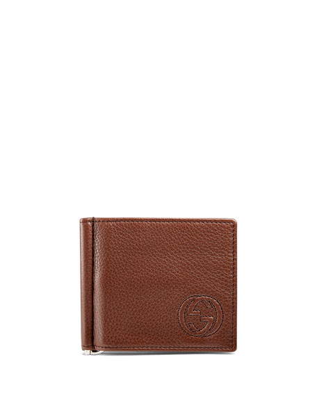 5a259e91f84b Gucci Soho Leather Money-Clip Wallet