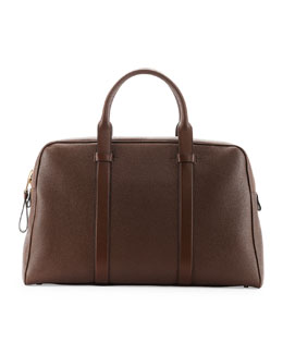 Buckley Men's Zip Small Duffle Bag, Light Brown