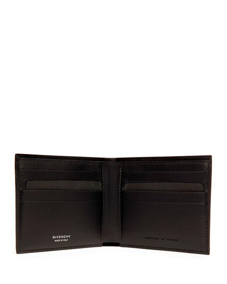 Fawn-Print Bi-Fold Wallet, Black