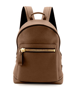 Buckley Zip-Pocket Backpack, Brown