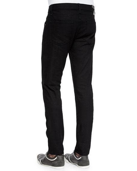 Mick Solid Denim Jeans, Black