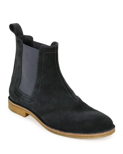 Aussie Suede Chelsea Boot, Gray