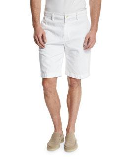Bermuda Sailing Shorts, Optical White