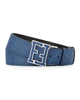 Zucca College Belt, Blue