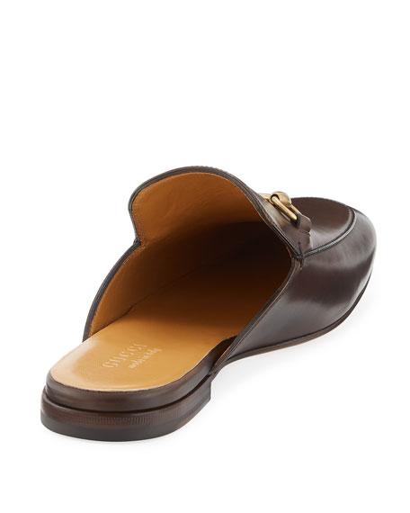 2e5666dcf0f Gucci Kings Leather Horsebit Mule