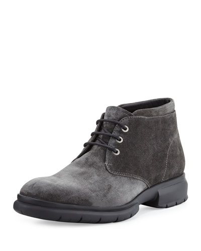 Gallagher Suede Chukka Boots, Gray