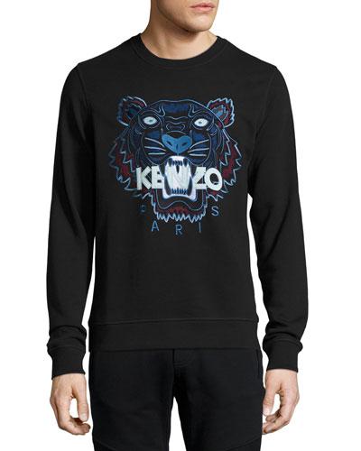 Iconic Tiger Sweatshirt, Black