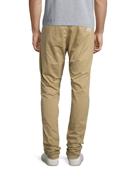 Standard Issue Four-Pocket Relaxed Trousers, Khaki