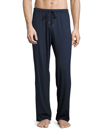 Jersey-Knit Lounge Pants  Navy