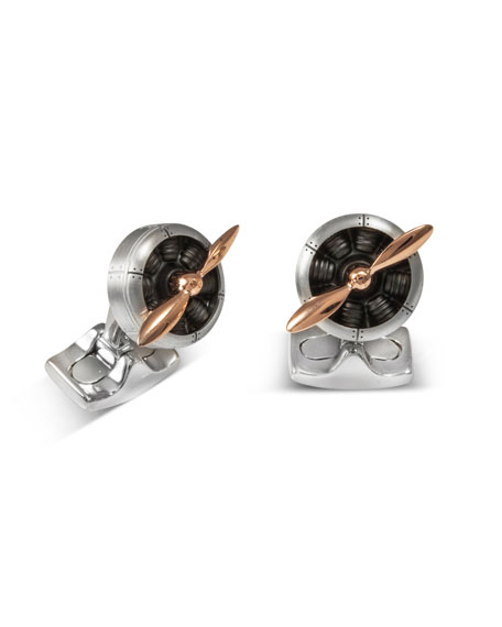 Sopwith Propeller Cuff Links