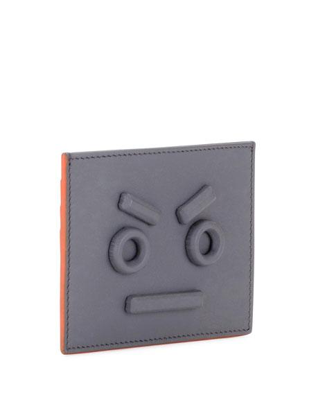 Face Border Card Case