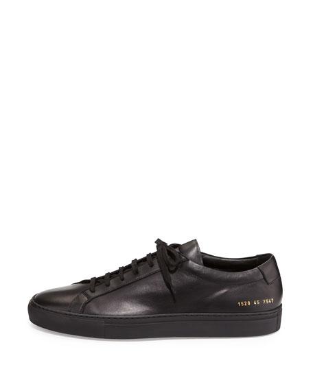 Men's Achilles Low-Top Sneakers, Black