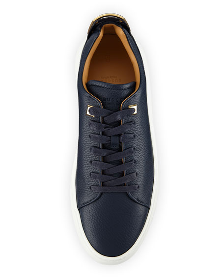 Men's 50mm Leather Low-Top Sneaker