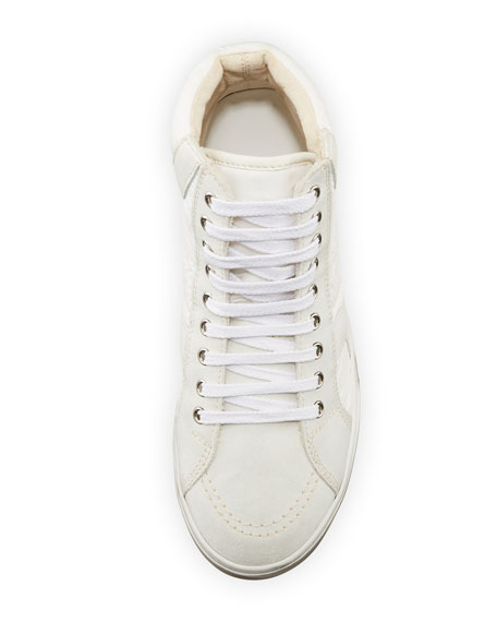 Men's Antibe Leather Mid-Top Sneaker