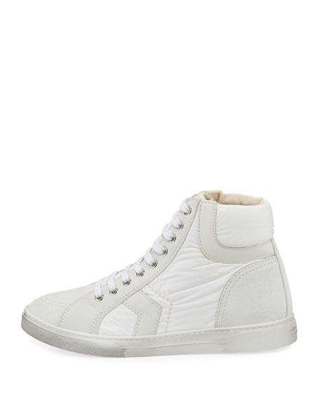 Men's Antibe Leather Mid-Top Sneakers