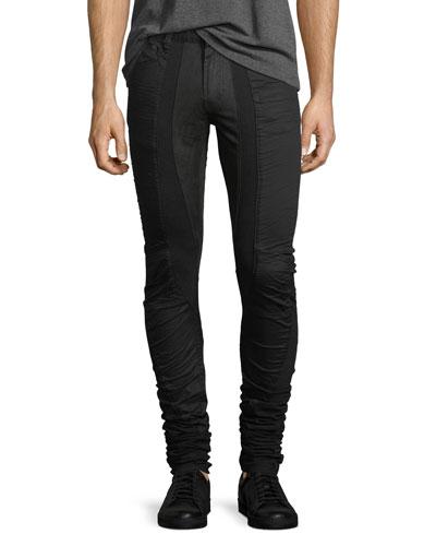 Super Long Skinny Jeans