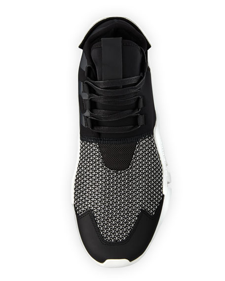 Men's Ayero Leather & Mesh Sneaker