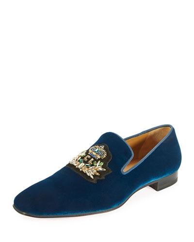Dandelion Men's Velvet Loafer