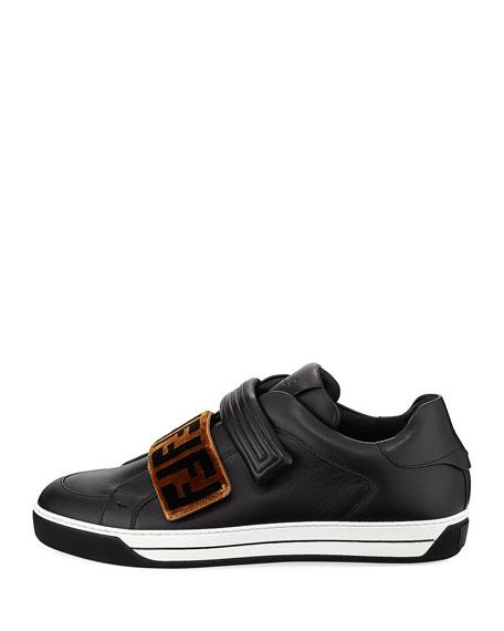 Men's Signature Grip-Strap Low-Top Sneakers
