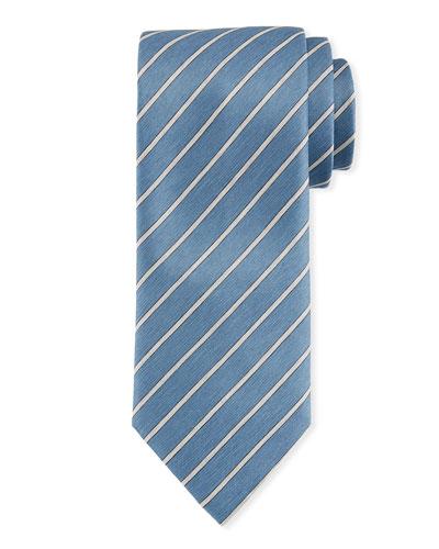 Striped Woven Tie