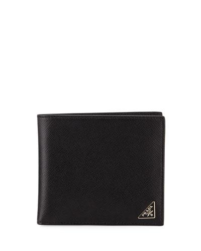 Saffiano Bi-Fold Wallet