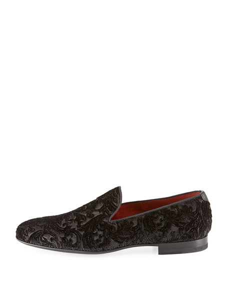 Velvet Slip-On Loafer