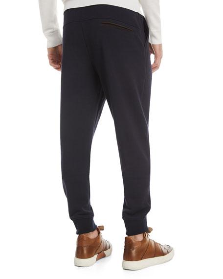 Cotton-Blend Jogger Pants
