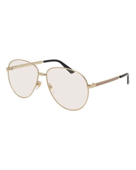 Unisex Universal Fit Round Metal Sunglasses
