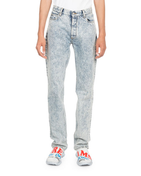 Image 1 of 1: Stone Wash Jeans