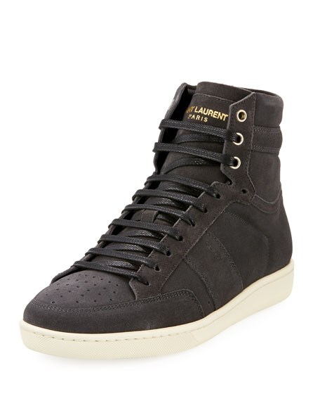 Men's Suede High-Top Sneakers