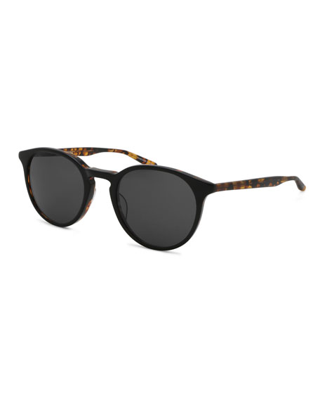 f476b2df9e42 Barton Perreira Men s Princeton Dark Round Sunglasses