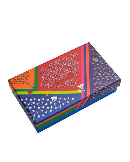 Ladybugs Boxed Tie & Pocket Square Set