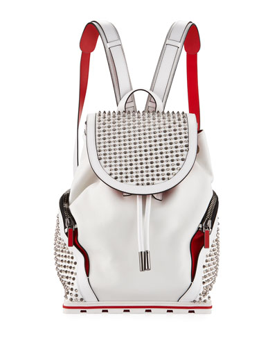 Explorafunk Studded Leather Backpack