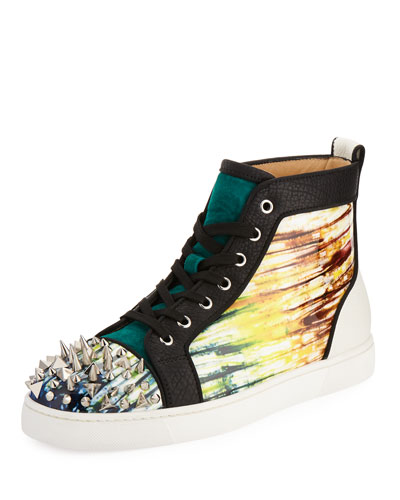 Lou Pik Pik Orlato High-Top Sneaker