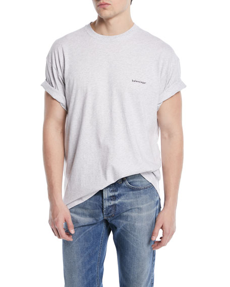 Copyright Embroidered-Logo T-Shirt