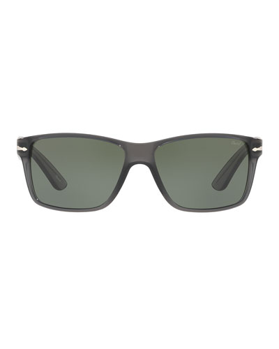 Square Plastic Sunglasses  Gray