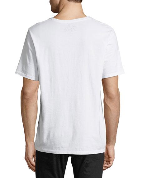 Multi-Panel Logo T-Shirt