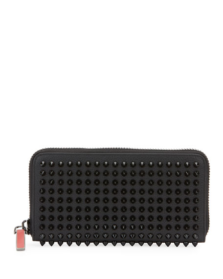 Men's Panettone Studded Leather Wallet