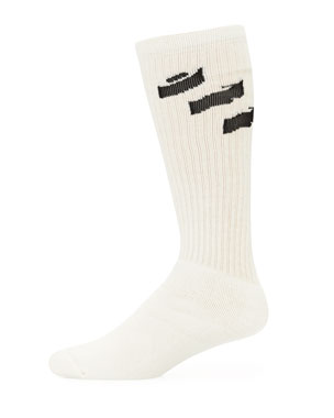 Off-White Men's Off Diagonal Socks