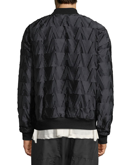 Kvasir Textured Satin Jacket