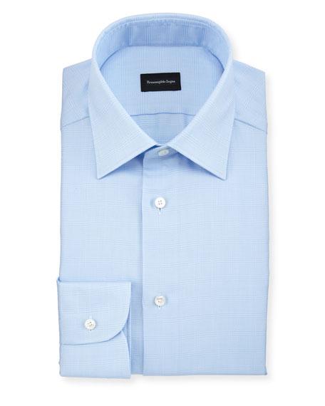 Men's Tonal Plaid Dress Shirt