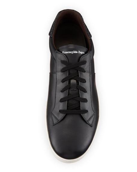 Men's Vulcanizzato Leather Low-Top Sneakers