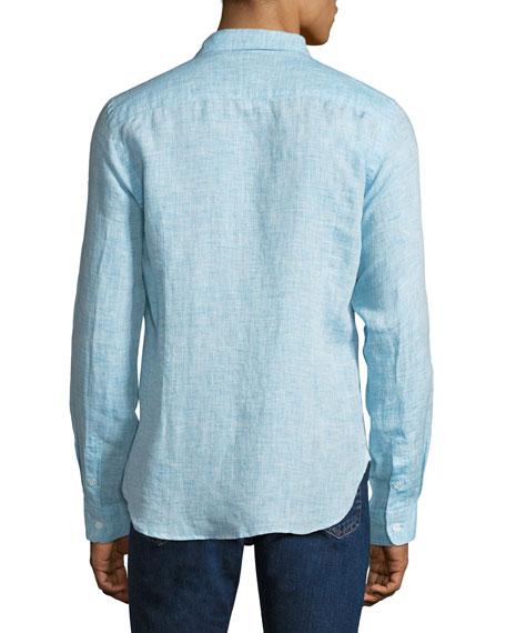 Men's Morton Tailored Sport Shirt, Blue
