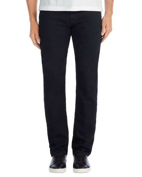 Men's Kane Straight-Leg French Terry Jeans, Winton