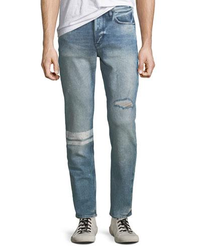 Men's Sartor Distressed Skinny Jeans