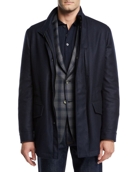 Image 1 of 1: Men's Cashmere Field Jacket