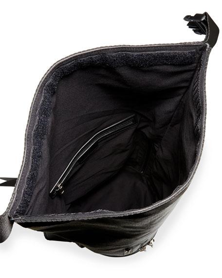 Men's Jaw Large Faux-Leather Hybrid Bag