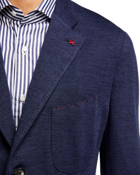 Men's Wool-Nylon Knit Blazer