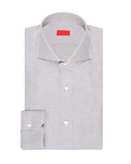 Men's Tic Cotton Dress Shirt